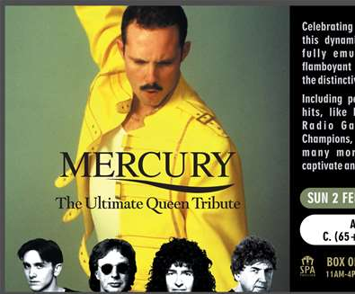 Mercury - The Ultimate Queen Tribute at The Spa Pavilion