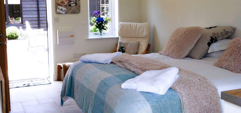 Mollett's Farm Bedroom Blue