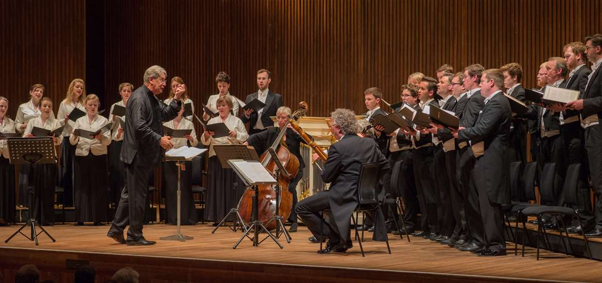 Monterverdi Choir with John Eliot Gardiner at Aldeburgh Festival