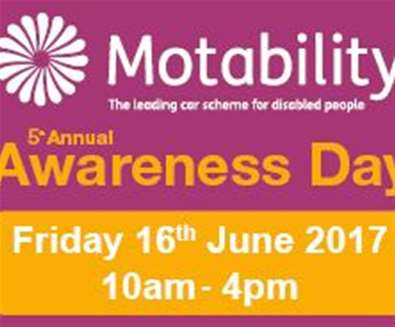 Motability Awareness Day 2017