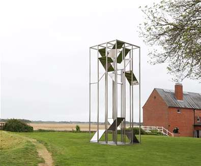 Myriad Sculpture is Revealed at Snape Maltings