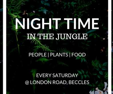 Night Time in the Jungle at The Urban Jungle