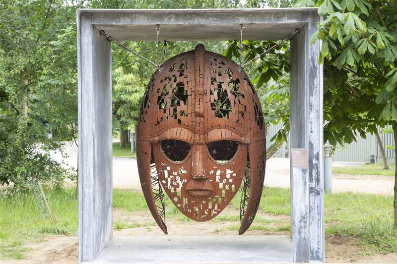 TTDA - National Trust Sutton Hoo - Helmet