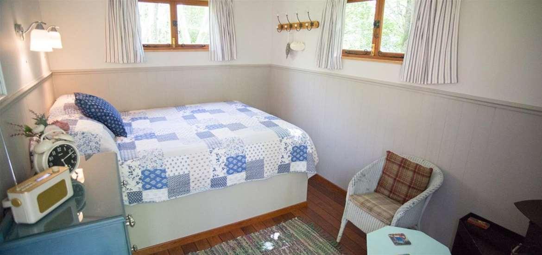 WTS - Kenton Hall Estate - Shepherd's Hut Interior