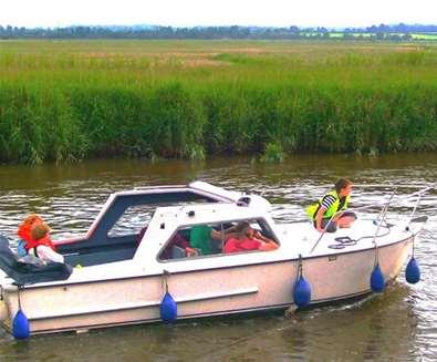 TTDA - Oulton Broad Dayboats - Boat