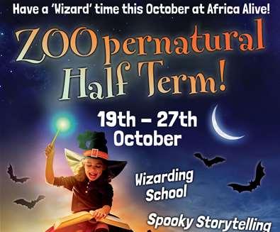 TTDE - Africa Alive - Zoopernatural half term