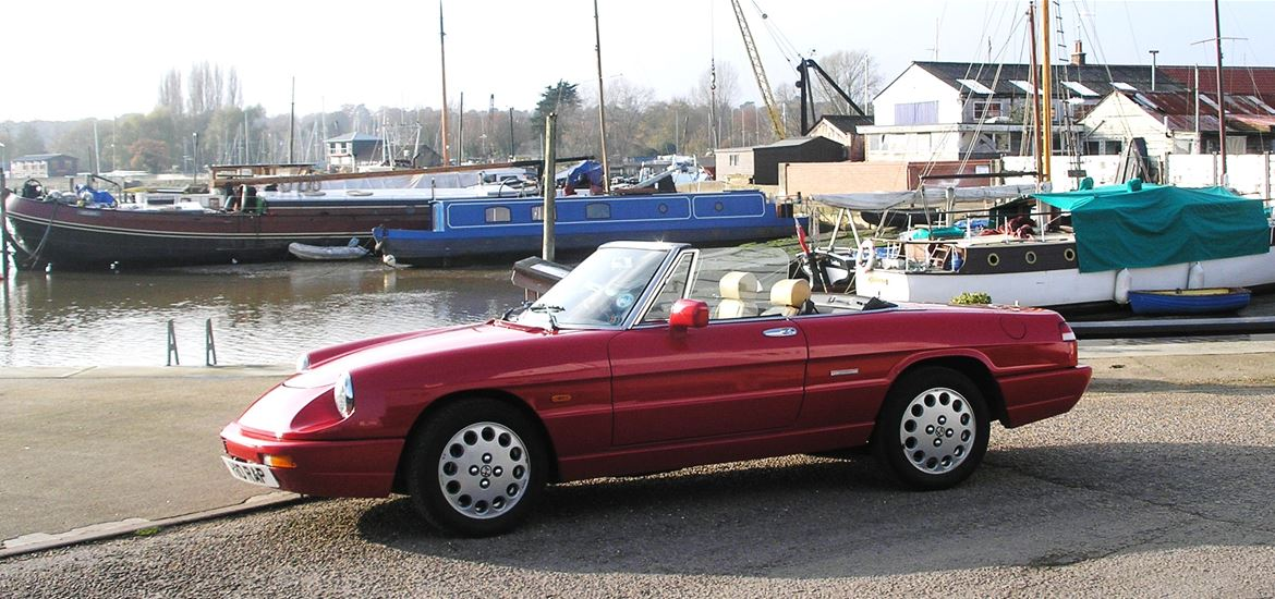 Open Top Touring - Alfa Romeo Spider