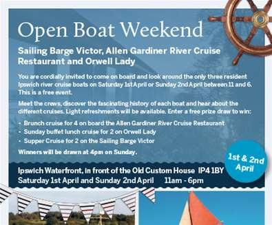 Open Boat Weekend