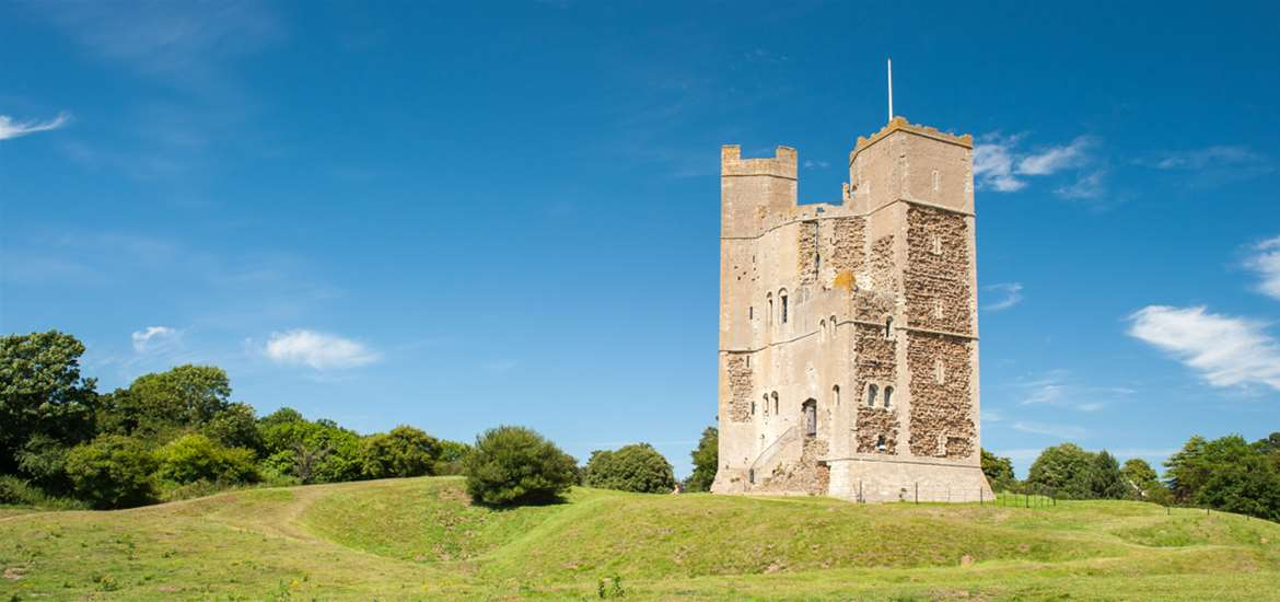 Orford Castle - (c) Gill Moon Photography