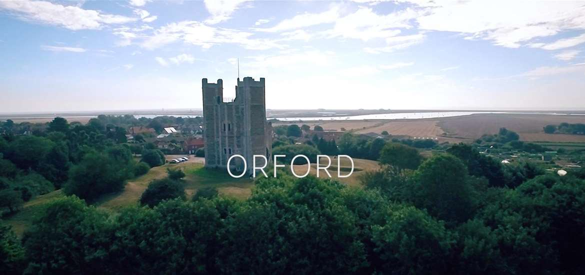 Orford on the Suffolk Coast