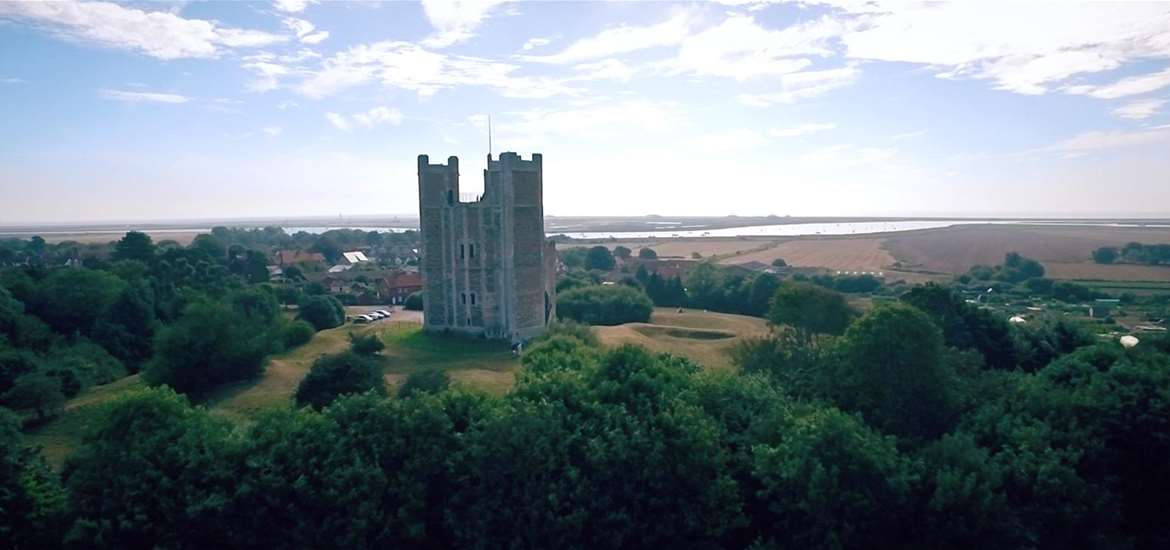 Orford Aerial View