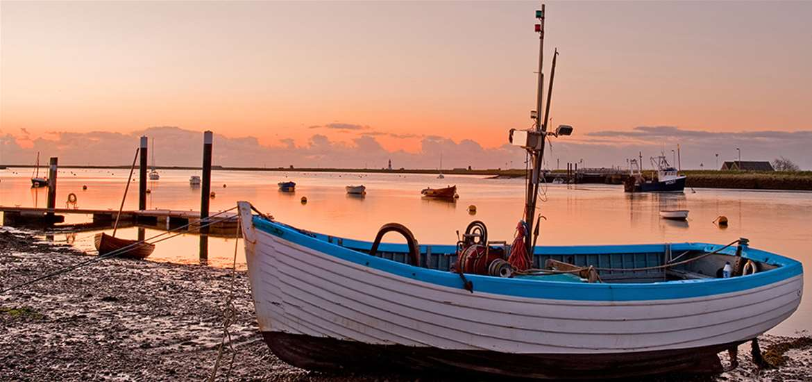 Win a wonderful break in the tranquil fishing village of Orford