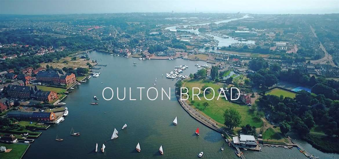 Oulton Broad Aerial View
