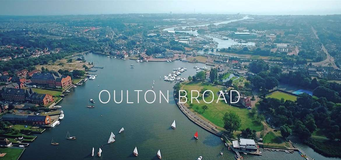 Oulton Broad on the Suffolk Coast