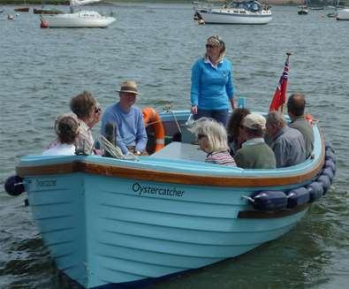 TTDA - Deben Boat Trips - Oystercatcher