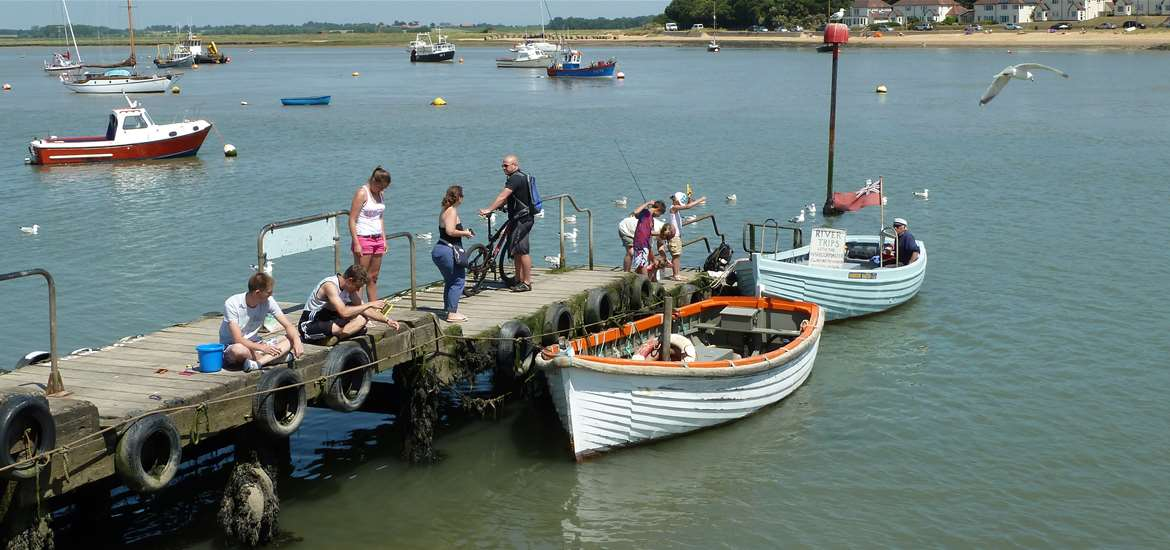 Felixstowe Ferry - Towns and Villages