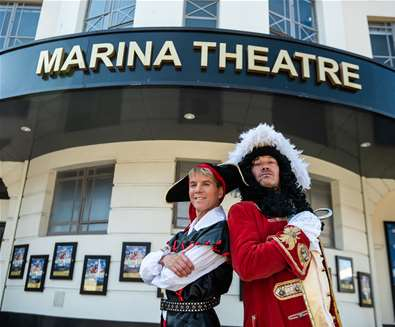 The Pantomime Adventures of Peter Pan at The Marina Theatre