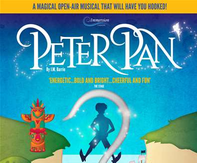 Immersion theatre: Peter Pan..