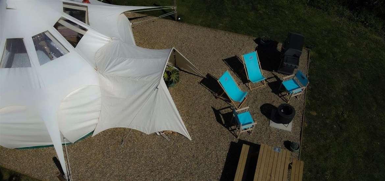 WTS - Manor Farm Knodishall - Sky View