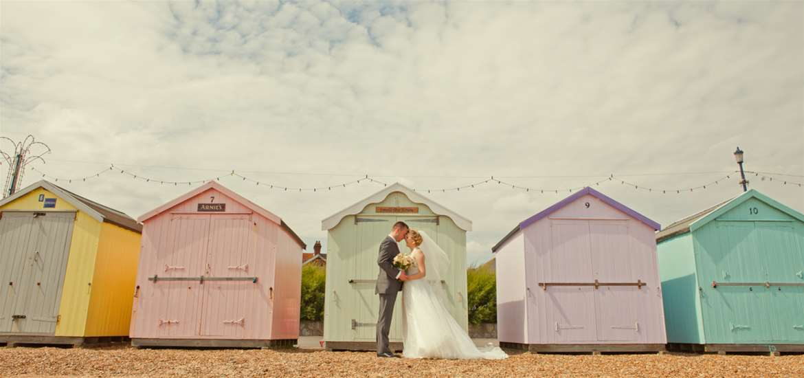 Photography by Emily Fae - Beach Hut Weddings Felixstowe