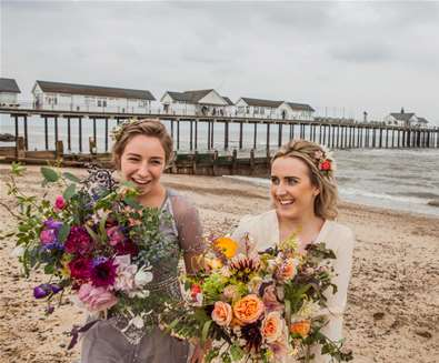 Coastal weddings on the suffolk coast - emily fae photography