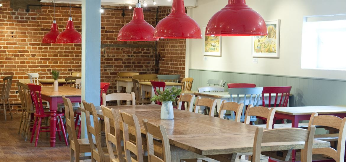 The Granary Tearoom at Snape Maltings