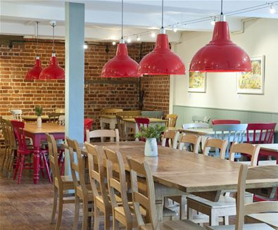 Eat at Snape Maltings