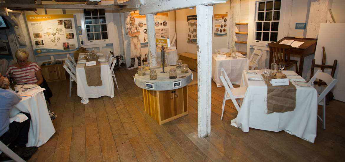 Bubble and Squid Pop Up Restaurant at Woodbridge Tide Mill