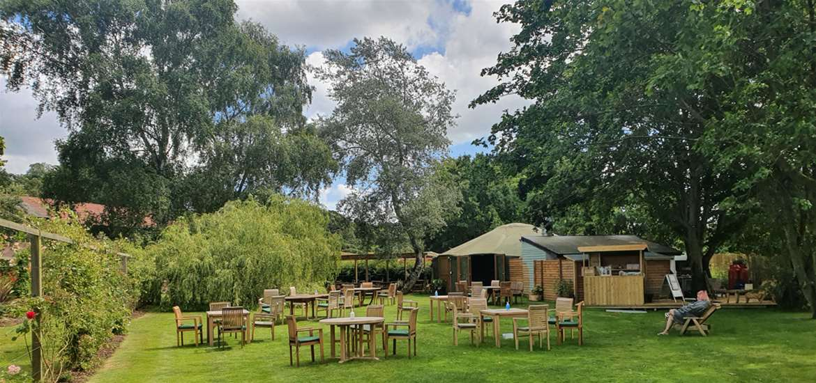 The Yurt Cafe and Restaurant at Potton Hall