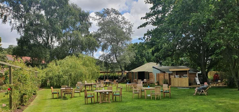 Potton Hall Spa and The Yurt Cafe