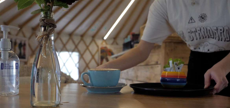 The Yurt Cafe Organics at Potton Hall