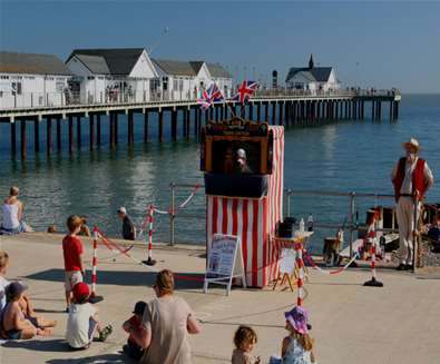 TTDA - Southwold Pier - Punch & Judy