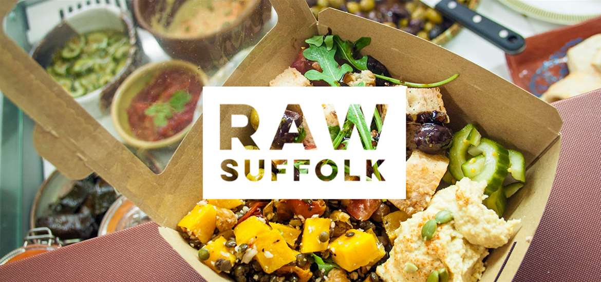 RAW SUFFOLK - Suffolk's Vegan Hot Spots - VeGee Deliw