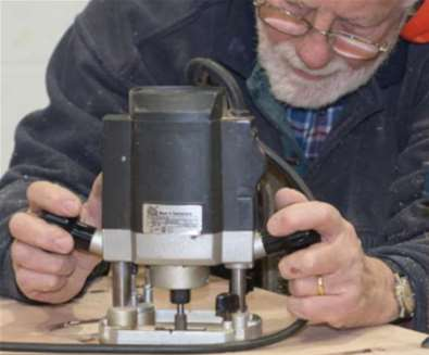 Router course with International Boatbuilding College