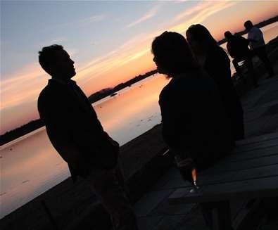 FD - Ramsholt Arms - Sunset