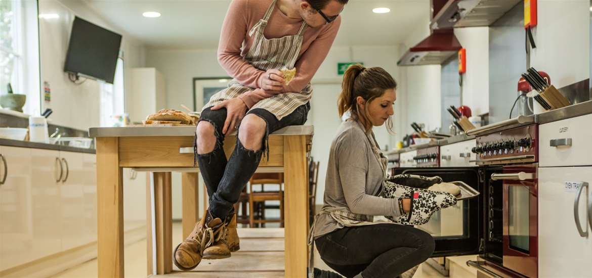 TTDA - The Food Hub - Couple in kitchen