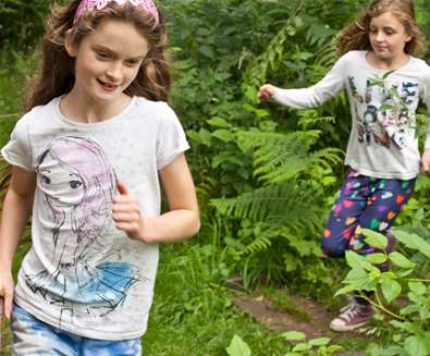 TTDA - Rendlesham Forest - Children in woods