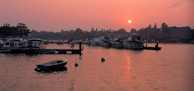 Oulton Broad Sunrise - (c) Richard Surman