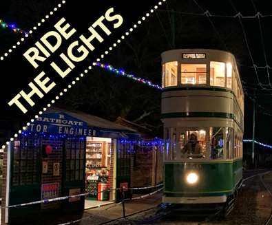 Ride the Lights at East Anglia Transport Museum