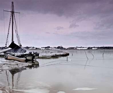 River Deben in winter (c) Gill Moon Photography