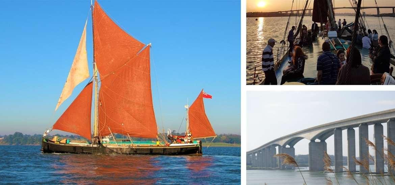 TTDA - Sailing Barge Victor - Montage