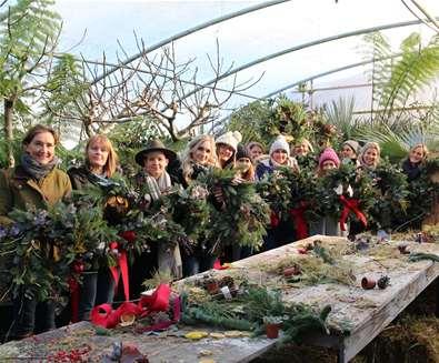 Wreath Making Workshops at Urban Jungle Suffolk