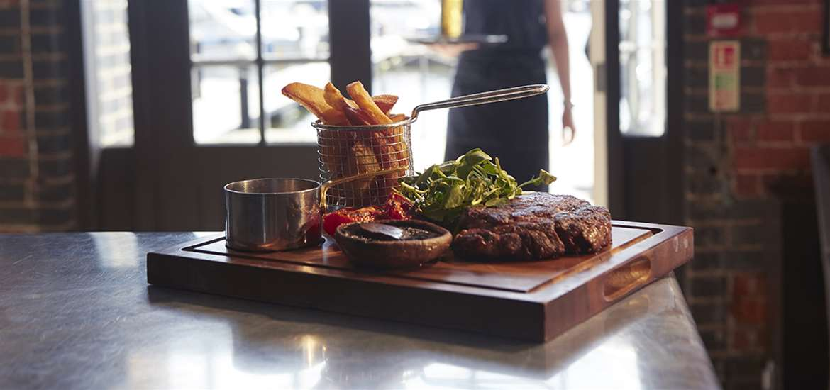 Salthouse Eaterie - Steak - Where to Eat