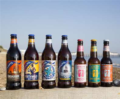 TTDA - Adnams - Beers (c) Sarah Groves