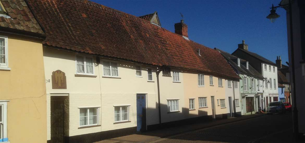 Saxmundham Street View - Photography by Dawn Ribnell