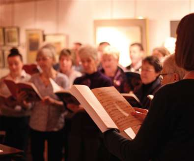 Scratch Choir: A Ceremony of Carols at The Red House