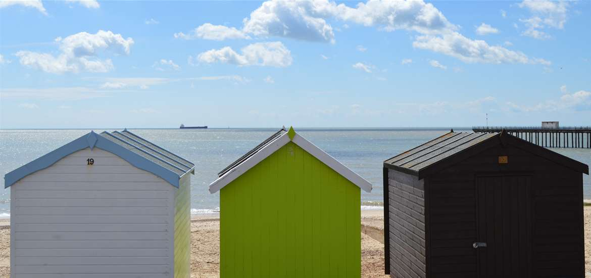 Felixstowe Beach Huts - Towns and Villages