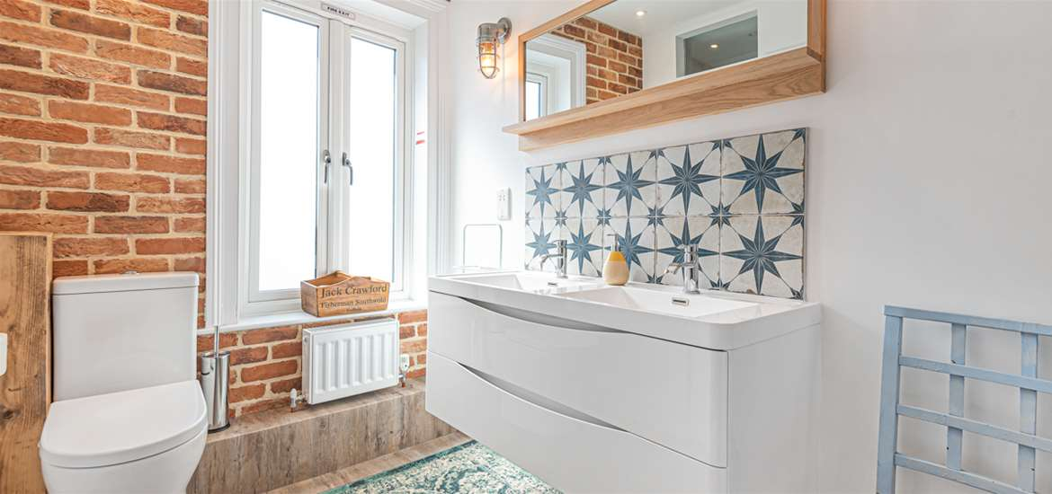 WTS Seagrass Cottage Southwold - Bathroom