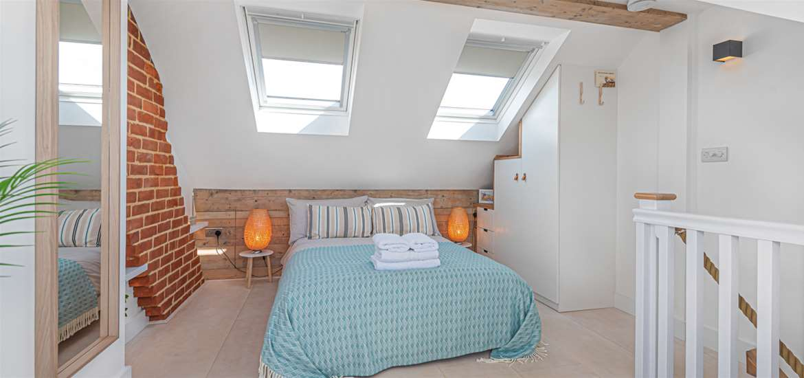 WTS Seagrass Cottage Southwold - Bedroom