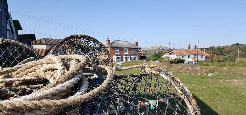 Sizewell Village on the Suffolk coast